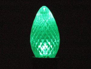 C7 LED Retro Fit Bulb Green 25PK
