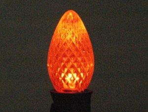 C7 LED Retro Fit Bulb Orange 25PK
