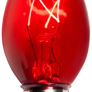 C7 Red Incandescent Pack of 25