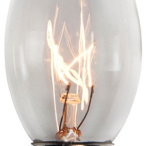 C9 Clear Incandescent Pack of 25