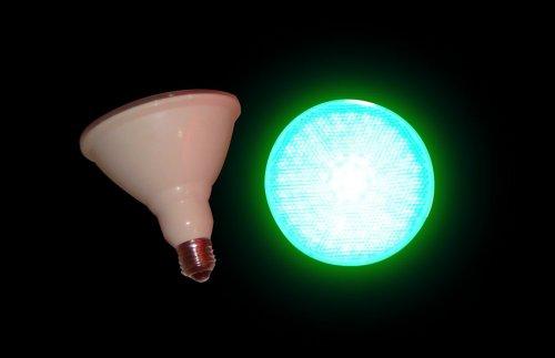 LED Par38 Green