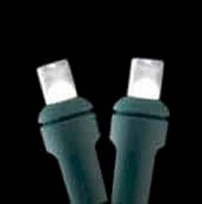5mm 50 count Glisten Lights  Pure White