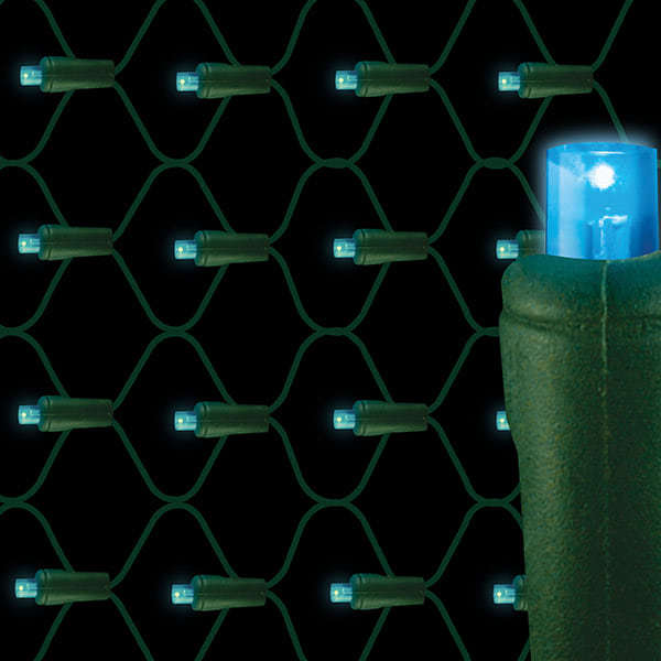 5mm LED net lights 70L Blue