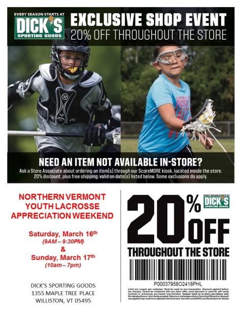 2019 Dicks Sporting Goods NVTYLL Weekend