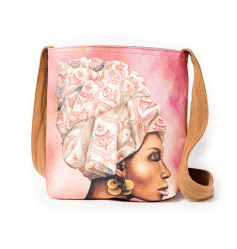 African Women Pomegranate Sling Bag