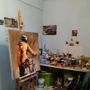 Justin Mashora's Studio