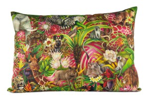 African Jungle full design pillow 70x50 2000pix