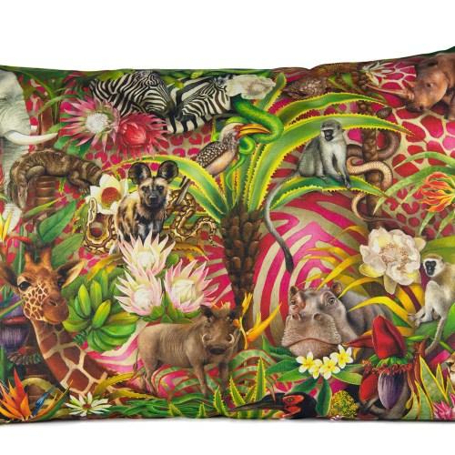 African Jungle full design pillow 70x50 2000pix