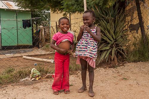 2 children in soweto