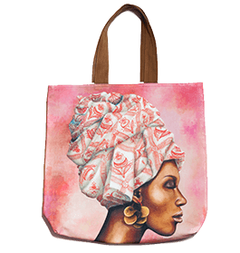 WhimsicalCollection African Women Big Bag Pomegranate