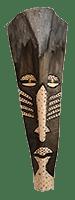 Vusi Palm Frond mask by Bob Mnisi