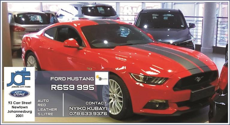 Ford Mustang at Joburg City Ford