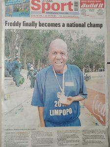 Retired SABC newsman Dr. Freddy Rikhotso honoured with Life Achievement Award