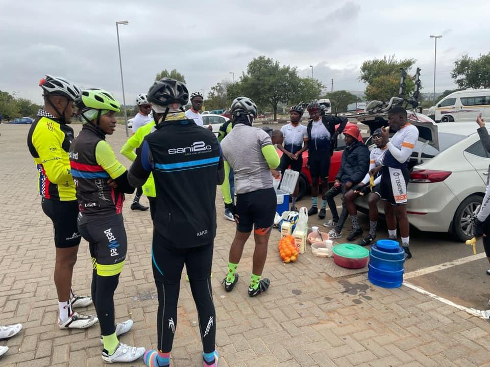 Joppie Village born Ntwanano Ngobeni Cycling over 400km for Charity