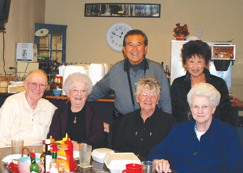 Bill Akiyoshi and his wife, Ruth, have a reunion with Bill's former classmates.