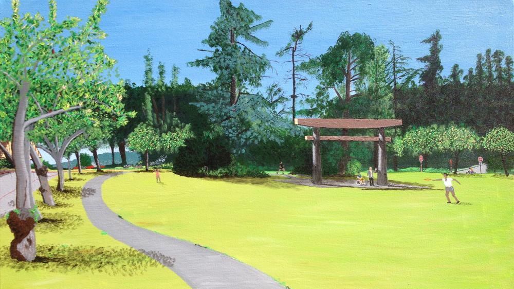 SEWARD PARK New Torii Painting