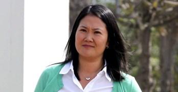 Fujimori leads first round in Peru election