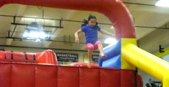 Ninja warrior kids battle it out for Birthday Dreams