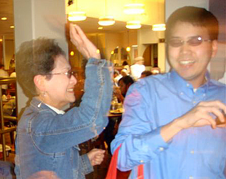John Liu and mom, Assunta Ng