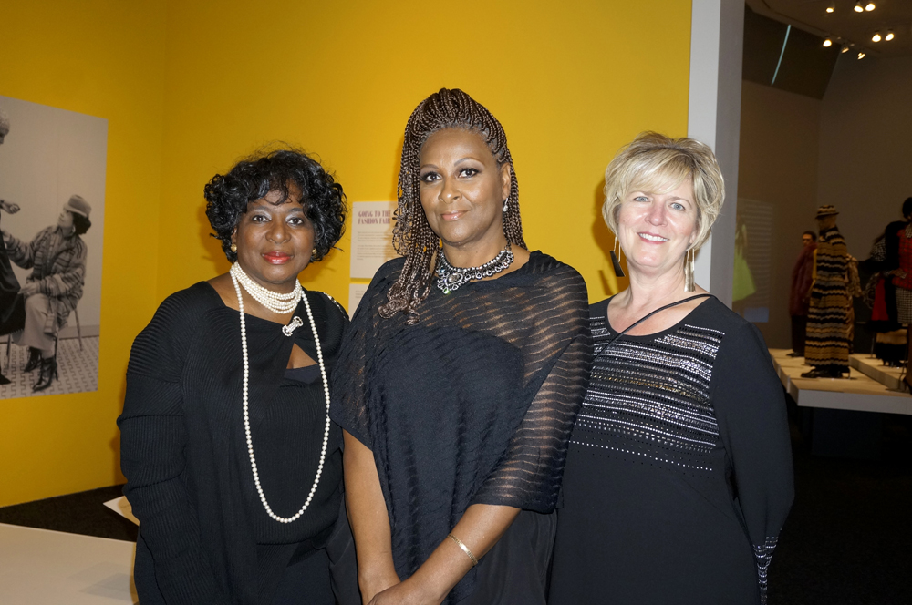 From left: Winona Hauge, Linda Johnson Coats, and Sonia Doughty (BAM Development Director) (Photo by George Liu/NWAW)