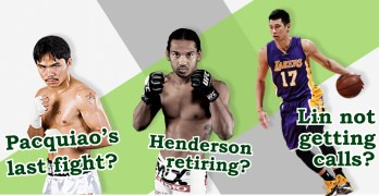 The Layup Drill — Pacquiao's last fight? Henderson retiring? Lin not getting calls?