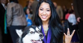 Filipino American wins scholarship