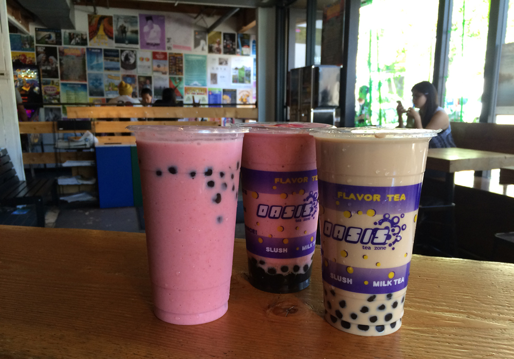 Bubble tea from Oasis Tea Zone (Photo by Assunta Ng/NWAW)