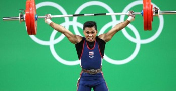 Grandmother of Thai Olympian dies watching him lift on TV