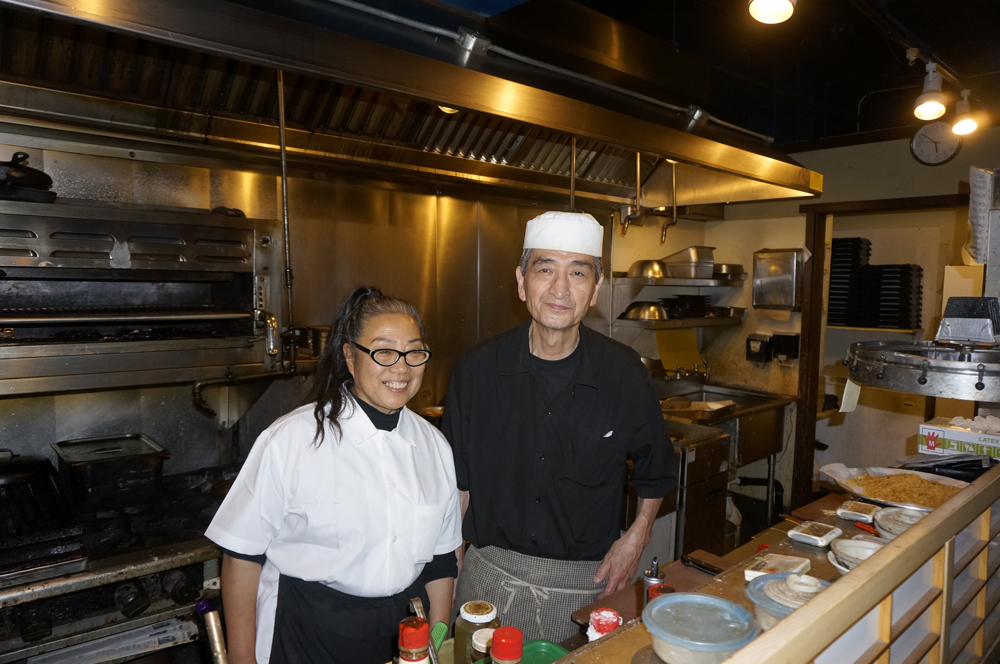 Karen and Masaharu Sadata (Photo by George Liu/NWAW)