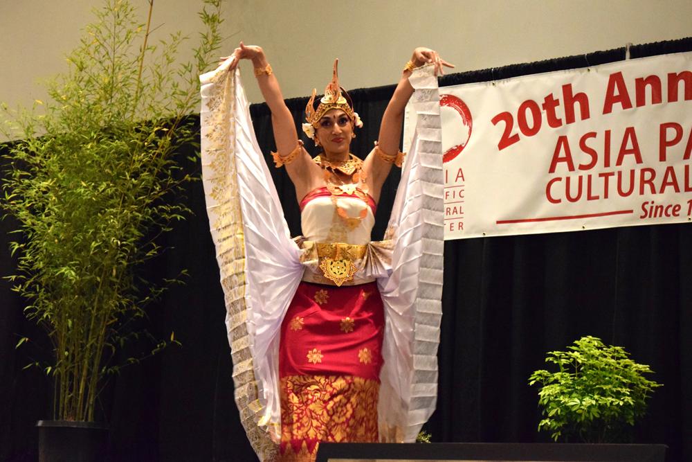 Thai Association dancers perform a traditional dance.
