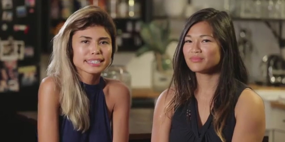 Sentra Tran (left) and Thu Tran (right)