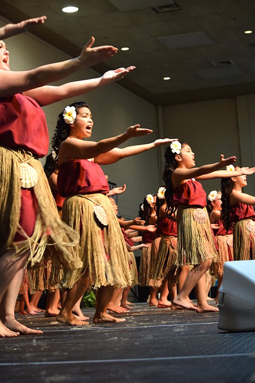 Modern day chants and dance designed to instill pride in Chamorro culture.