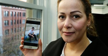 Syrian mom in Trump lawsuit: 'It's unfair' son stuck abroad