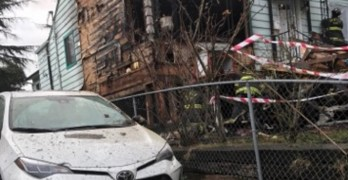 Yee Fung Toy Family Association-owned building set on fire