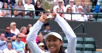 Claire Liu of U.S. wins junior title at Wimbledon