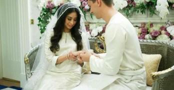 Malaysian princess marries Dutchman