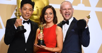 Tsuji makes Oscar history
