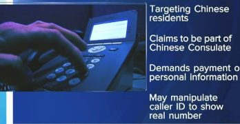 Scammers impersonate Chinese consulate staff