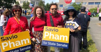 Pham's unlikely campaign—Uphill battle ahead for GOP hopeful in blue district
