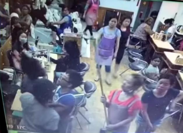 Nail salon brawl leads to community protests for Salon brawl
