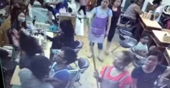 Nail salon brawl leads to community protests