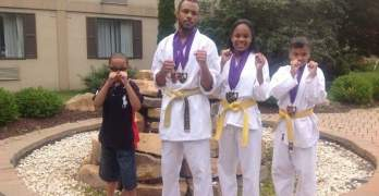 Karate school gives back to community