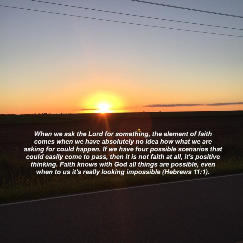 Chasing Sunsets - Pastor Clay's Devotions