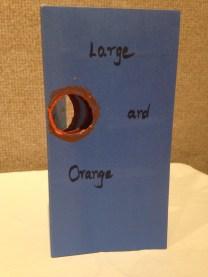 """""""Large and Orange Moon"""" by SuSheila Khera"""