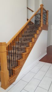 Home Remodel New Flooring Staircase View by NW Contracting LLC from Canby Oregon