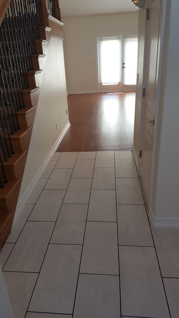 Home Remodel New Flooring Staircase View by NW Contracting LLC from Canby Oregon 232