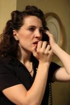 Clara Hillier in Wait Until Dark, directed by Bobby Bermea. Photos by Jason Maniccia, copyright 2014.