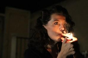 Clara Hillier as Susan in Wait Until Dark, directed by Bobby Bermea. Photos by Jason Maniccia, copyright 2014.