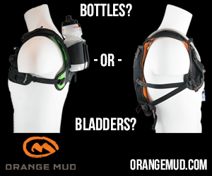 Orange Mud Runner Pack Med. Rectangle