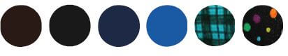 color options available for eye patches